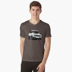 Renault 4L t-shirts on Redbubble.  #renault #renault4 #renault4l #france #automobiles #french #white #retro #70s #80s #car #classiccars #renaultR4 #tshirts #tshirt #illustration