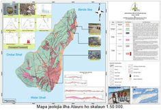 Servisu Mapamentu Jeolojia, Prospeksaun Rekursu Mineral no Enerjia Jeotermal iha Ilha Atauro, Munisipiu Dili, Timor-Leste - IPG Timor-Leste Timor Leste, Earth Science, Geology, Sash