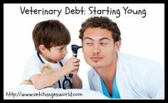How we can help students get a handle on student debt before they ever get to veterinary school.