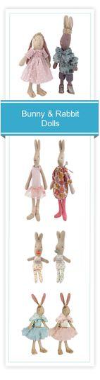 Bunny & Rabbit Dolls