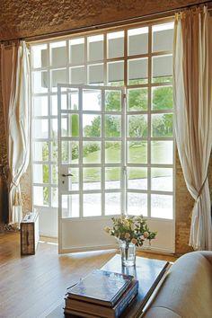 beautiful glass door entry