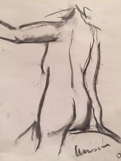 Nude. Charcoal. 2015. Charcoal, Pencil, Pastel, Nude, Art, Art Background, Cake, Kunst, Performing Arts