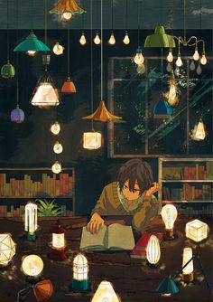Image in anime boy 2 collection by mary on We Heart It Pretty Art, Cute Art, Aesthetic Art, Aesthetic Anime, Manga Art, Anime Art, Arte 8 Bits, Japon Illustration, Anime Scenery Wallpaper