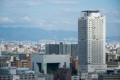Westin Hotel Osaka (ウェスティンホテル大阪). / Architect : Hiroshi Hara (設計:原広司).
