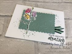 The Craft Spa - Stampin' Up! UK independent demonstrator - Order Stampin Up in UK: Saturday Six & another swap... Swing Card, Color Contour, Easel Cards, On October 3rd, Touch Of Gold, Happy Mail, Embossing Folder, Happy Thoughts, Blank Cards