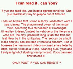 ONLY REPOST IF YOU CAN READ IT!! /-----/ I read it perfectly fine. Weird.
