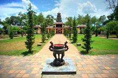 Chùa Thiên Mụ - Huế #travel #Hue #church #Vietnam