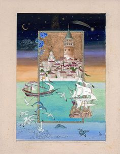 . Eserin İsmi : Galata Kulesi Minyatür : Özcan Özcan