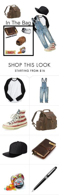 """""""Daughter Of Castiel (12)"""" by georgiaearnest ❤ liked on Polyvore featuring Gap, Hollister Co., Converse, Le Donne, Gents, Fountain, Dylan's Candy Bar, Montblanc and Louisville Slugger"""