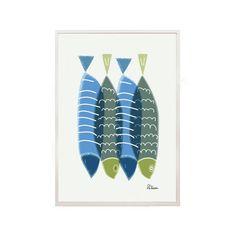 Fish Print -Fish Illustration- summer art print - Art print by nicemiceforyou on Etsy, Fish Print, Cactus Print, Fish Illustration, Illustrations, Nature Posters, Fish Design, Indigenous Art, Summer Art, Art Sketchbook