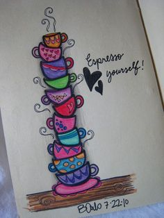 à peindre sur un mug par exemple