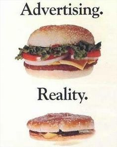 Fast food restaurants really should start marketing their true products!