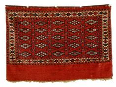 Grogan and Company | YOMUD CHUVAL, Turkestan, circa 1900  3 feet 8 inches x 2 feet 8 inches
