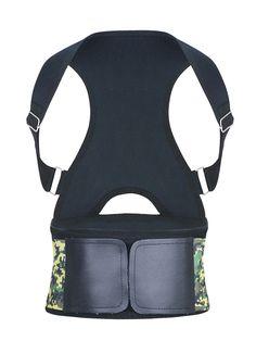 Burvogue Adjustable Back Posture Corrector Sports Waist Trainer Belt