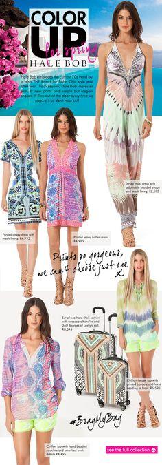 Hale Bob, Cover Up, Seasons, Prints, Collection, Color, Dresses, Fashion, Vestidos