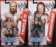 **PACKAGE DEAL** UNDERTAKER & TRIPLE H - WWE SERIES 16 TOY WRESTLING ACTION FIGURES $24.99