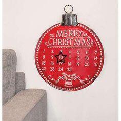 Countdown Until Christmas, Our First Christmas Ornament, Countdown Clock, Days Until Christmas, Christmas Ornament Crafts, Christmas Signs, Christmas Time, Christmas Bulbs, Christmas Decorations