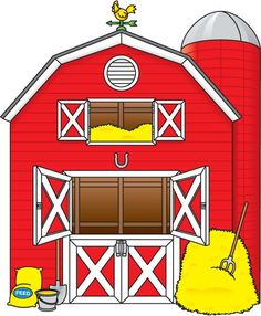 Free Farm Clip Art of Cartoon farm animals clipart free clip art images image for your personal projects, presentations or web designs.