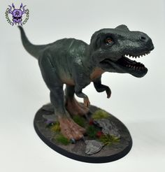 #ChaoticColors #Miniaturepainting #Tabletopgames #Wargaming  #Art #hobby #fantasy #dungeonsanddragons #dinosaur #trex Warhammer Fantasy, Warhammer 40k, Dungeons And Dragons, Age Of Sigmar, Sculptures, Lion Sculpture, Tabletop Games, Jurassic World, T Rex