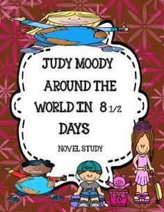 Judy Moody Around the World (Megan McDonald) - Novel Study Packet