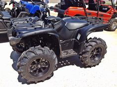 Yamaha Grizzly 700 Special Edition with Wheels & Tires