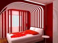 Red Bedroom Ideas Designs Design White