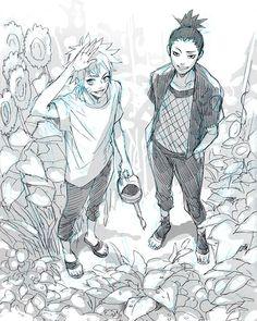 Shikamaru and Naruto