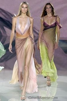 These dresses remind me of Ivy from Soul Calibur's outfit - same colors and whimsical feeling.