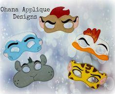 Lion Guard set of 5 masks