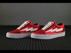 f71df5f878e8 Ian Connor REVENGE X STORM VANS Red color HD review from aj23shoes net