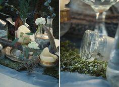 Industrial winter wedding inspiration