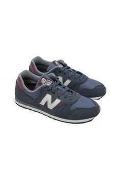 New Balance ML373NSR Trainers 'Suede Pack' (Navy/Red) - New Balance from ThirtySix UK