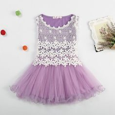 Lace Summer Flower Dress For Toddlers And Beyond  A perfect gift for your baby.