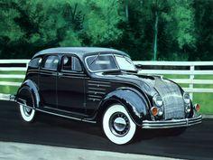 1934 Chrysler AirFlow 4-Door Black