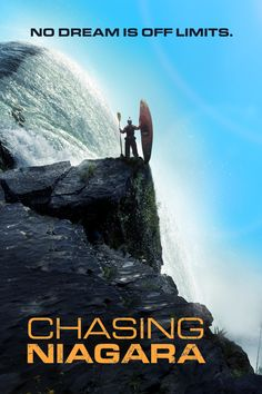 Chasing Niagara Movie Poster - Rafa Ortiz, Evan Garcia, Gerd Serrasolses  #ChasingNiagara, #RafaOrtiz, #EvanGarcia, #GerdSerrasolses, #RushSturges, #Documentary, #Art, #Film, #Movie, #Poster