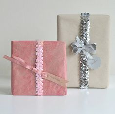 Lovely gift wrap idea!!  http://www.willowday.com/