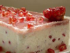postre bajo en calorías con yogurt y gelatina