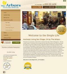 Check out the badge at the bottom: The Arbors is one of San Diego's Top Rated Communities!