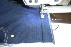 Denim Crafts, Handmade Christmas Gifts, Diy And Crafts, Wallet, Sewing, Blog, Clothes, Projects, Fashion