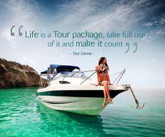 "Tour Quotes: ""Life is a Tour package, take full use of it and make it count"" - Tour Center -   #tourquotes #travelquotes #topquotes #lifequotes #inspirationalquotes #quoteoftheday #qotd #tourlife #tourlovers #tourcenter #touragentsuk #touragencyuk"
