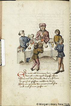 Literary, MS M.763 fol. 128v - Images from Medieval and Renaissance Manuscripts - The Morgan Library & Museum