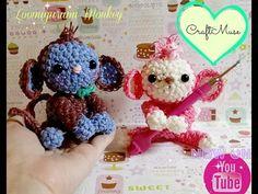 Rainbow Loom Loomigurumi Monkey - YouTube