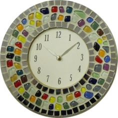Mosaic Clock Kit - A complete mosaic kit - No cutting required | eBay