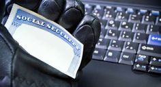 Identity theft on laptop computer by blas on PhotoDune. Social Security Card in hacker¡¯s hand, identity theft Emergency Preparation, Survival Prepping, Identity Thief, Identity Protection, Computer Internet, Personal Defense, Technology Articles, Marketing Jobs