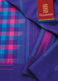 Joyous celebration of checks. And a humble reflection of the traditional ethos that continues to inspire. The vivid hues - purple, sky blue, magenta and bright peach - promotes a colourful pattern of thinking. #Utppalakshi #Sareeoftheday#Silksaree#Kancheevaramsilksaree#Kanchipuramsilks #Ethinc#Indian #traditional #dress#wedding #silk #saree#craftsmanship #weaving#Chennai #boutique #vibrant#exquisit #pure #weddingsaree#sareedesign #colorful #elite