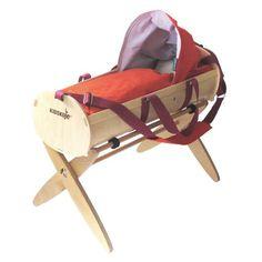 Kidskoje – portable cradle and handcart by kidskoje Baby Furniture Sets, Modern Kids Furniture, Furniture Design, Let's Have Fun, Kid Beds, Baby Strollers, Children, Toy, Interior Design