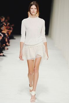 {fashion inspiration | runway : nina ricci spring-summer 2014, paris}