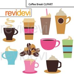 Coffee Break Digital Clip art features coffee cup, cappuccino, cafe latte, and coffee beans. Clipart resource for creating TpT materials.This digital clipart set is great for teachers and educators. The collection is suitable for school and classroom projects such as for bulletin board, learning printable, worksheet, classroom decor and mini poster, craft materials, activities and games, and for more educational and fun projects.You will receive:- Each clipart saved separately in PNG format…