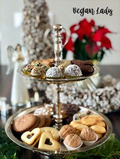 Čertove oči s višňami v rume - Vegan Lady Tiered Cakes, Vegan, Baking, Lady, Bakken, Vegans, Backen, Sweets, Pastries
