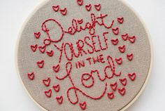 Delight Yourself in the Lord by wildolive, via Flickr